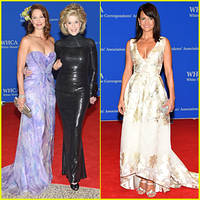 ashley judd & jane fonda meet up at white house correspondents dinner 2015
