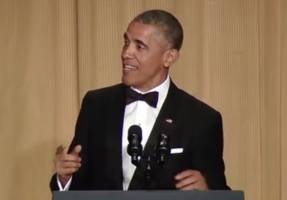 At correspondents' dinner, Obama jokes over Israel tensions